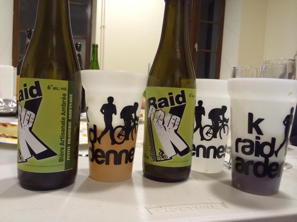 Bière K raid Ardennes Anchamps Revin Trail